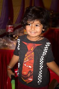 Armaan at Anushka's Birthday celebrations at Marol, Mumbai.