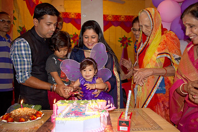 Anushka's Birthday Celebrations at Marol, Mumbai.