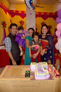 Anushka's Birthday Celebrations at Marol, Mumbai.