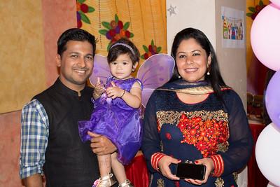 Anushka with Sumit & Priya. At Anushka's Birthday celebrations at Marol, Mumbai.