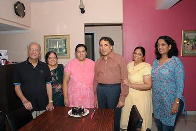 Combine B'day celebration of Sarika (1st Nov) and Manu (14th Nov) at Eden-4, Powai, Mumbai.