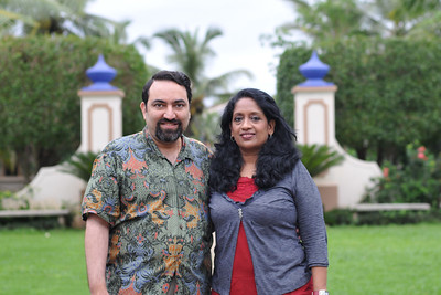 Anu & Suchit at Goa. Visit to Club Mahindra Resort, Varca Beach, Goa.