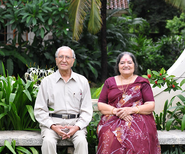 Papa & Amma in Goa. Visit to Club Mahindra Resort, Varca Beach, Goa.