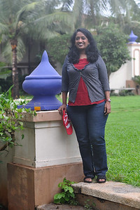 Anu  at CM Goa. Visit to Club Mahindra Resort, Varca Beach, Goa.