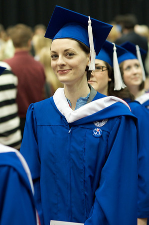 Laura Miller at Duquesne Liberal Arts Diploma Ceremony 2009