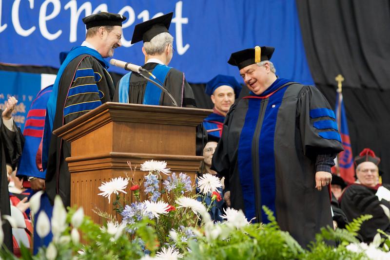 Dr. Dennis Woytek Doctoral Diploma Ceremony