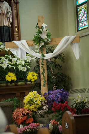 Easter Basket Blessing at St. Mary, New Kensington, 2009