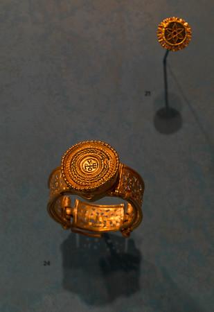 Bracelet of Sergius Byzantine, late 6th-7th C.