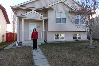 Brenda Outside Kayla & Greg's House