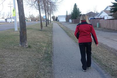 Brenda On Our Walk