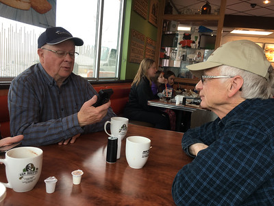 Family Get-Together at Tim Horton's, Innisfail