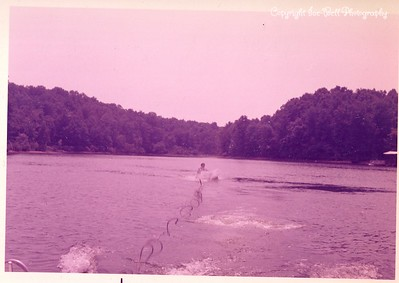 1970 Lake of the Ozarks; Floy Ice Skiing