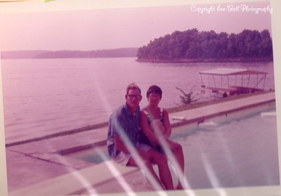 1970 Lake of the Ozarks; Richard and Floy