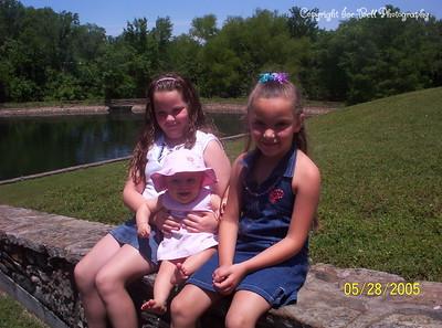 5/28/05 Ashlynn, Baylee, and Hanna