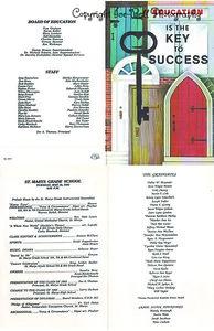 19930818 8th Grade Graduation Program