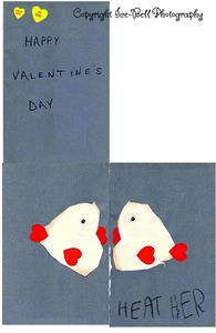 1984 Valentines Day Card From Heather