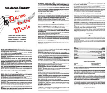 19940610-0611 The Dance Factory Dance to the Music