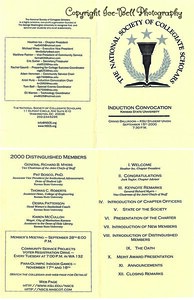 20000915 KSU NSSC Induction Convocation