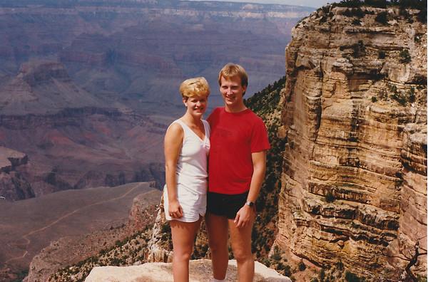 Kimberly and Tim Berger - Grand Canyon