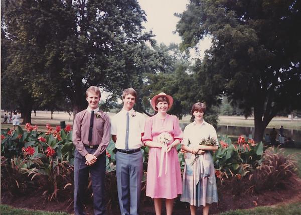 Tim Berger, Dan, Me, Kathy Klein