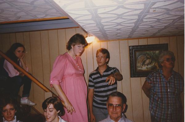 Trish Grow, Tim Berger, Grandma Gress, Patty Cook, Kathy Klein, Grandpa Gress