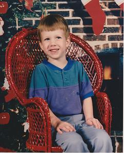 Matt - Age 4 - Christmas 1993