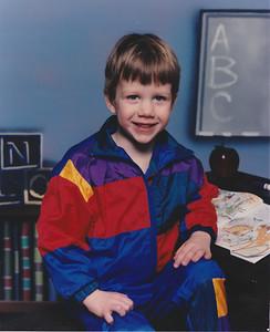 Matt - Age 4 - Spring 1994