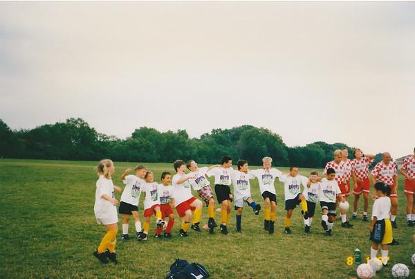 Matt and Jeff - British Soccer Camp - 1997
