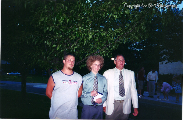 200405 Patrick Marstall's 8th Grade Graduation with Doug and Richard
