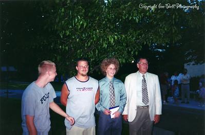 200405 Patrick Marstall's 8th Grade Graduation with DJ, Doug and Richard