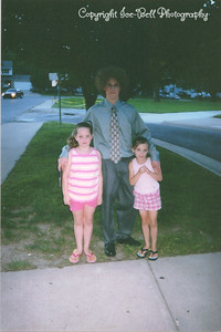 200405 Patrick Marstall's 8th Grade Graduation Ashlynn and Baylee