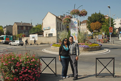Anu & Suchit at Meudon, Paris, France