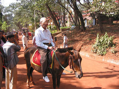 Horse ride for Papa in Matheran.  Trip to Matheran to take parents out on a forced-holiday by their children. :)