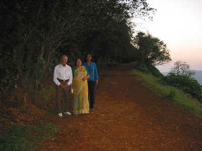 Papa, Amma and Anu at Matheran.