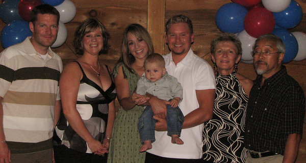 Famille de / Family of Joseph / Gabriel<br /> Neil, Danielle, Suzan, Shayne, Anne-Marie, Nobuyuki & Caiden