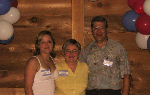 Famille de / Family of Joseph / Cécile<br /> Christine, Ginette & André