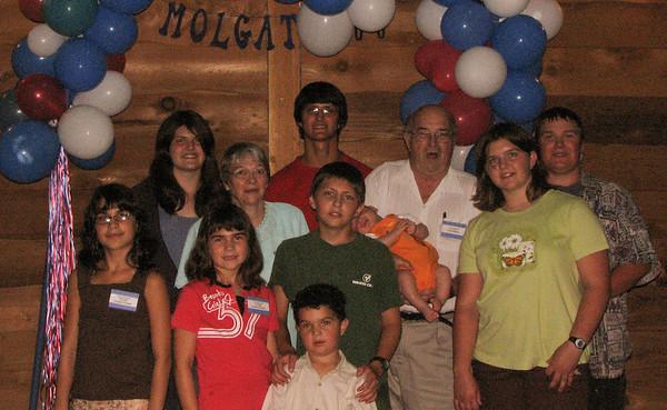 Famille de / Family of Joseph / Cécile<br /> Natalie, Samuel, Ovide, Jonah, Denise, Lucas, Jocelyn, Gabrielle, Zachary, Kaitlyn & Jean-Paul