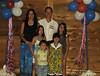 Famille de / Family of Louis / Daniel<br /> Christian, Hélène, Élouise, Sarah, Raphaël, Evelyn