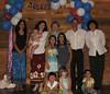 Famille de / Family of Louis / Daniel & Jean<br /> Hélène, Miryam, Jeanne, Christian, Lise, Monique, Élouise, Sarah, Evelyn, Lillianne & Raphaël