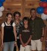 Famille de / Family of Joseph / Hervé<br /> Renae, Laura, Justin & Ron