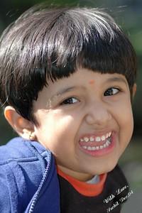 My cousin Riya
