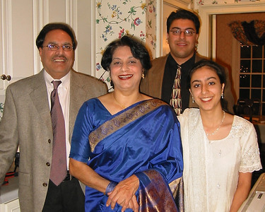 Arun Nanda [Paternal Uncle], Deepa Nanda [Aunt],  Amit Nanda [Cousin], Payal Nanda [cousin]