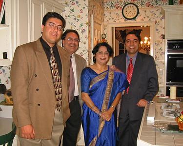 Amit Nanda [Cousin], Arun Nanda [Paternal Uncle], Deepa Nanda [Aunt], Suchit Nanda [myself]