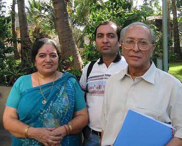 Sharda Nanda [Mom], Anish Nanda [Younger Brother], S K Nanda [Dad]
