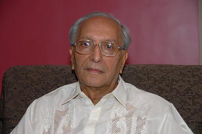 Papa - S K Nanda on his B'day on 5th May 2007.