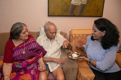 Papa's Birthday Celebrations at Eden-4, Powa, Mumbai on 5th May, 2018.