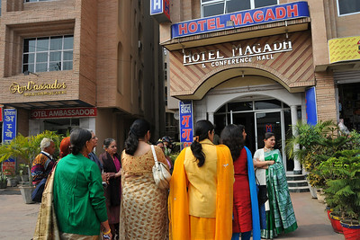 Piyush's family members at Hotel Magadh, Patna. Nimisha wed Piyush Seth in Patna on 1st Feb, 2008.