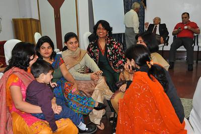 Breakfast at the Hotel Magadh, Patna at Nimisha & Piyush Seth's wedding in Feb, 2008.