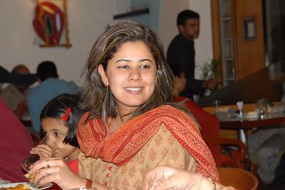 Priya giving various poses.