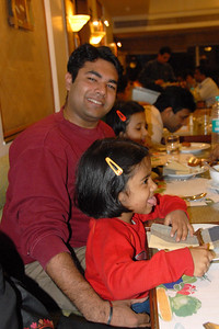 Piyush Mama is always the favourite with the kids.